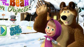 Игра: Маша и Медведь - Найди цифры