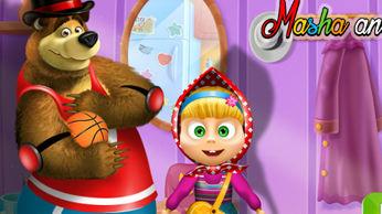 Игра: Маша и Медведь - Пасхальное яйцо