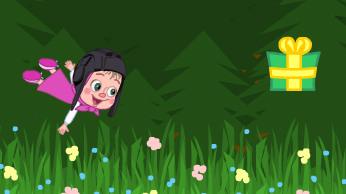 Игра: Маша прыгает!