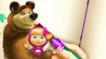 Игра: Маша и медведь - Тренируй память!