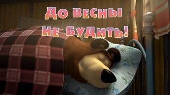 Маша и Медведь 3 серия - Раз, два, три! Ёлочка гори!